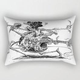 Guitah Spidah Rectangular Pillow