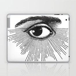 I See You. Black and White Laptop & iPad Skin