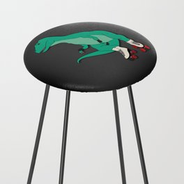 Tyrollersaurus Rex Counter Stool