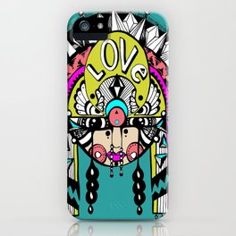 Love Goddess  iPhone Case