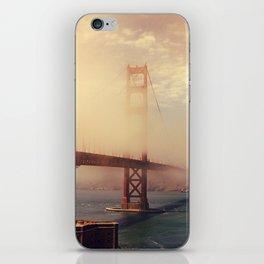 Golden Crossings iPhone Skin