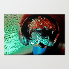 Mr Skype Canvas Print