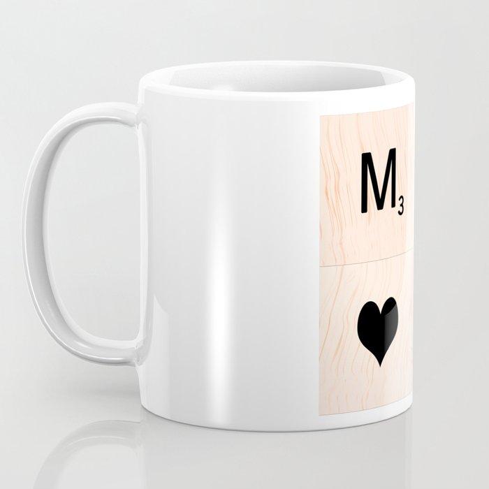 Gift for MOM Scrabble Tile Art - Mother's Day Coffee Mug