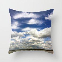 Everglades Sky Throw Pillow