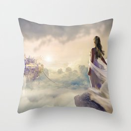 Fantasy   Fantaisie Throw Pillow