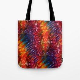 Vibrant Hippy Tye Dye Tote Bag