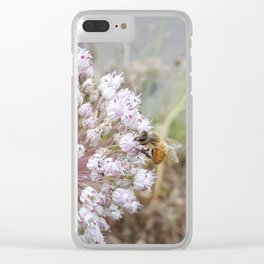 Thank you for BEEing Love Clear iPhone Case