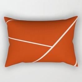 Tennis court gravel Rectangular Pillow
