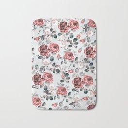 flowers pattern 3a Bath Mat