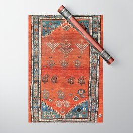 Bakhshaish Azerbaijan Northwest Persian Carpet Print Wrapping Paper