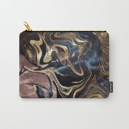Liquid Gold Marble Carry-All Pouch