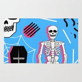 Halloween- Memphis style Rug