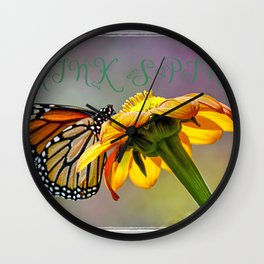 Think spring Wall Clock
