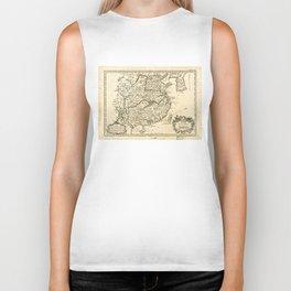 L'Empire de la Chine, Map of China (1764) Biker Tank