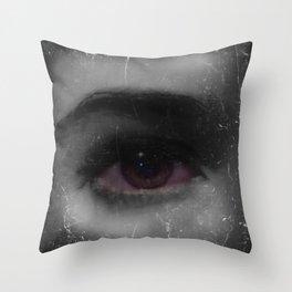 Self Portrait of Eye Throw Pillow