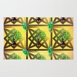 Celtic Tree Pattern Rug