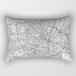 Bangkok Map Line Rectangular Pillow