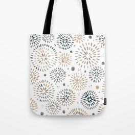 Abstract watercolor sparkles – neutral Tote Bag