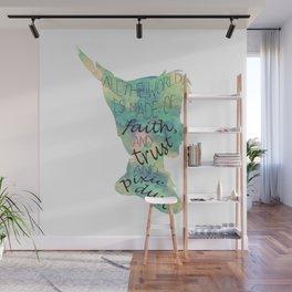 Peter Pan Pixie Dust Wall Mural