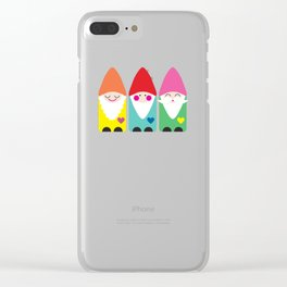 BFF Gnomes I Clear iPhone Case