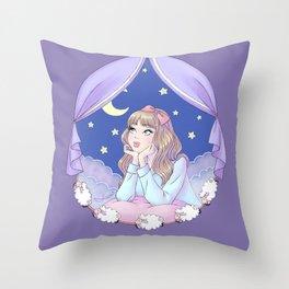 Night Dreamer Throw Pillow