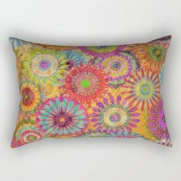 Mysterious Mandalas Rectangular Pillow