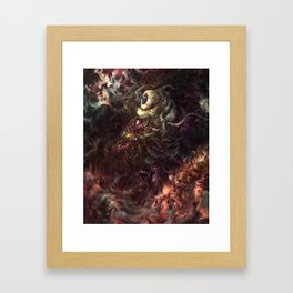 Star Eater Framed Art Print
