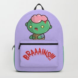 Zombie Kawaii | BRAAAINS!!!! BRAINS!! Halloween Backpack