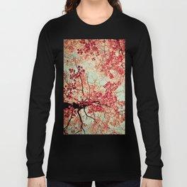 Autumn Inkblot Long Sleeve T-shirt