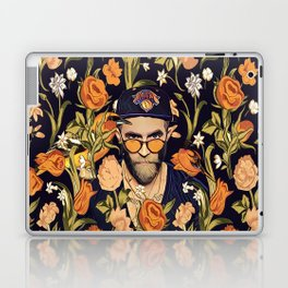 Floral New York fan Laptop & iPad Skin