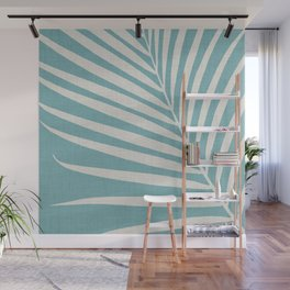 Vintage Palm Frond Wall Mural