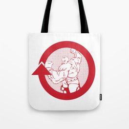 SFV ZANGIEF Tote Bag