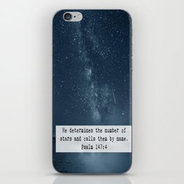Counts the Stars iPhone Skin