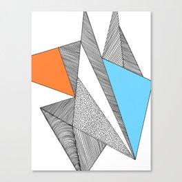 Skandinavien Canvas Print