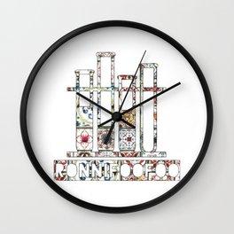 Boho Laboratories Wall Clock