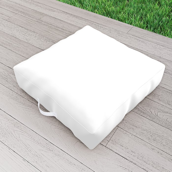 I'm A Workoholic Outdoor Floor Cushion