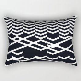 defragmentation Rectangular Pillow