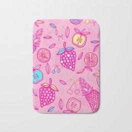 Tropicana on Pink Sorbet Bath Mat