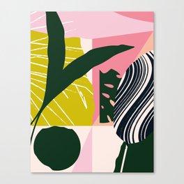 Tropical West Canvas Print