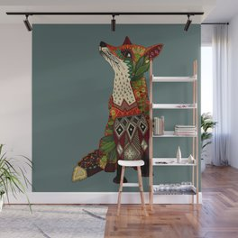 fox love Wall Mural