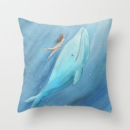 Just see the light Throw Pillow