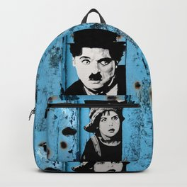Chaplin and the kid - Urban ART Backpack