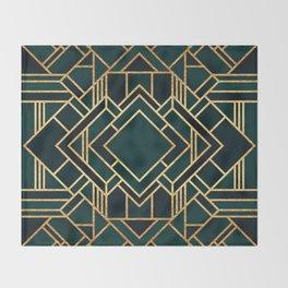 Art Deco 2 Throw Blanket