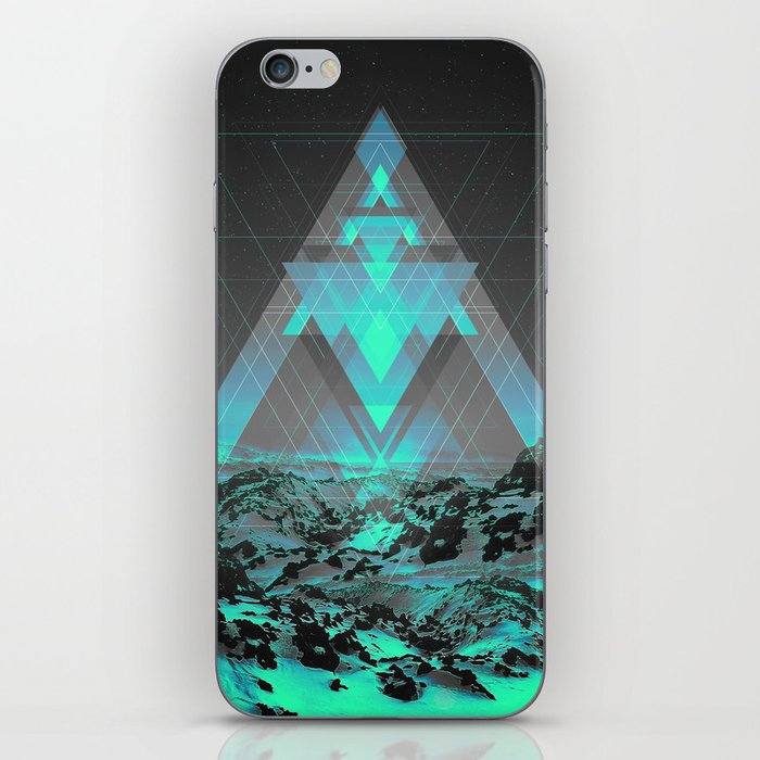 Neither Real Nor Imaginary II iPhone Skin