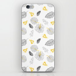 Leaves Pattern iPhone Skin