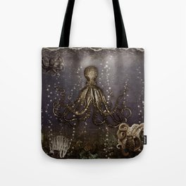 Octopus' lair - Old Photo Tote Bag