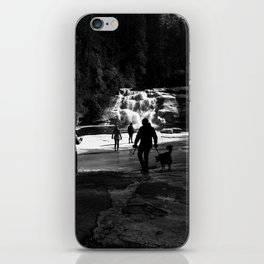 Out on the Ice iPhone Skin