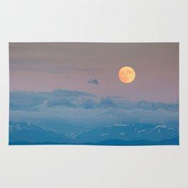 Full super moon December 2017 Rug