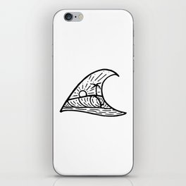 Wave in a Wave iPhone Skin