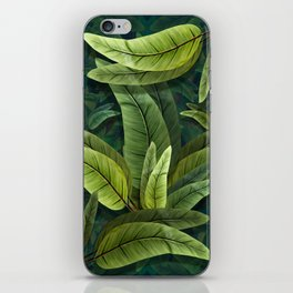 """Retro Tropical Tiki Fantasy 02"" iPhone Skin"